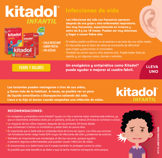 Kitadol oído