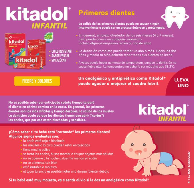 Kitadol primeros dientes